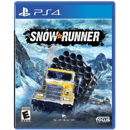 Snowrunner, Maximum Games, PlayStation 4 (Best Ps4 Zombie Games 2019)