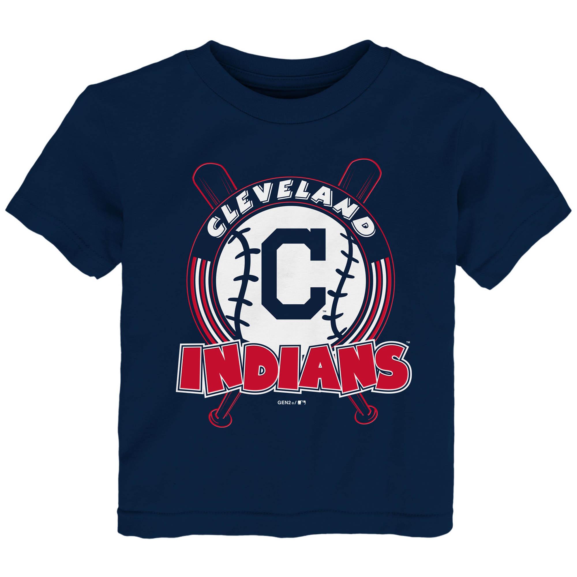 Cleveland Indians Toddler Fun Park T-Shirt - Navy