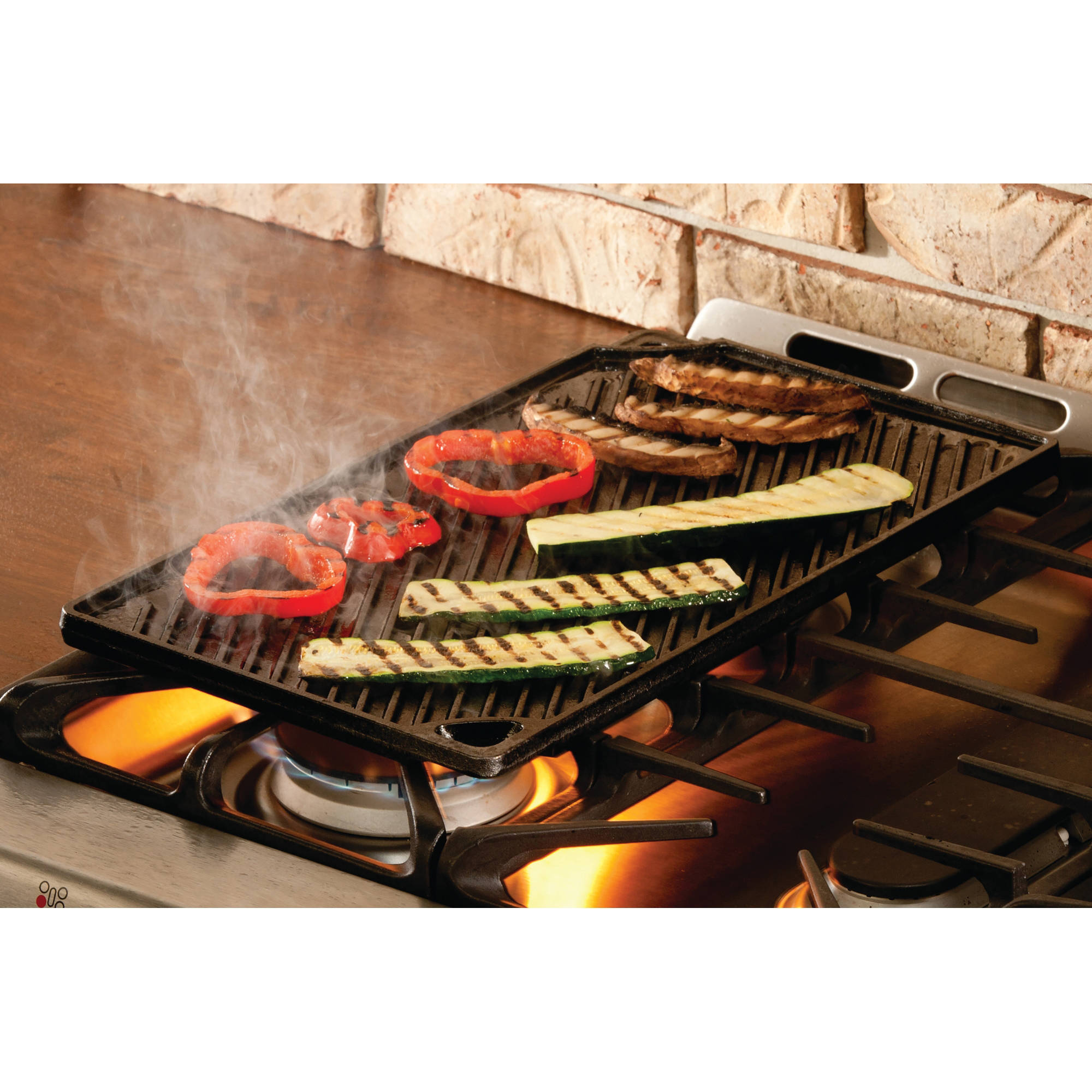 Lodge 16 75 X 9 5 Reversible Grill Griddle Seasoned Cast Iron Ldp3