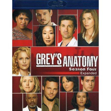 Greys Anatomy  Season 4   Expanded  Blu Ray   Widescreen