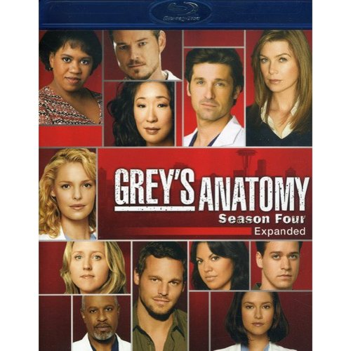 Grey's Anatomy: Season 4 - Expanded (Blu-ray) (Widescreen)