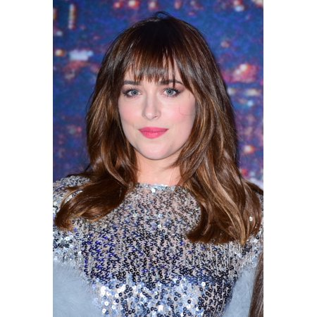 Dakota Johnson At Arrivals For Saturday Night Live Snl 40Th Anniversary Rockefeller Plaza New York Ny February 15 2015 Photo By Gregorio T Binuyaeverett Collection Photo Print