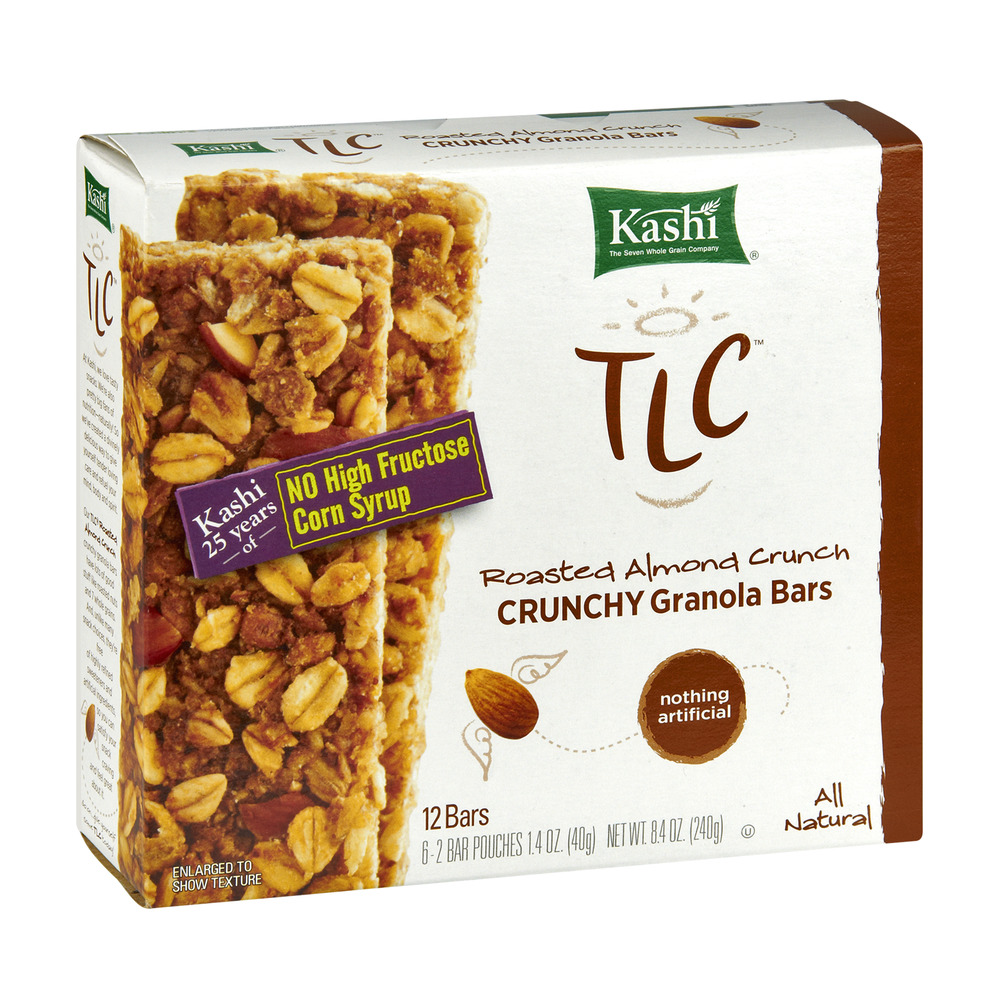 Kashi TLC Chewy Granola Bars, Roasted Almond Crunch, 6ct