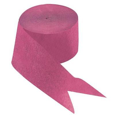 IN-70/61 Hot Pink Paper Streamer 2PK