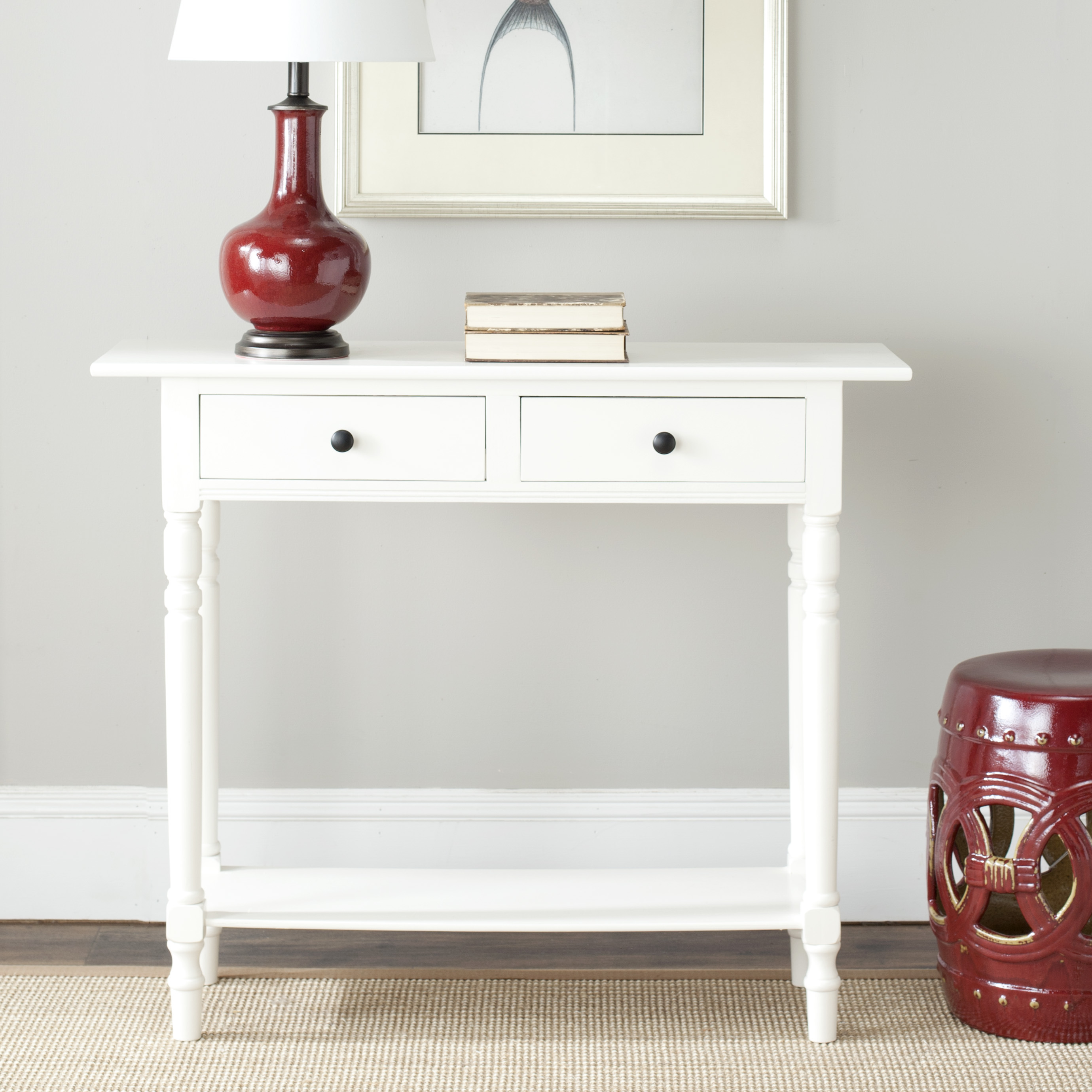 Safavieh Rosemary 2-Drawer Console