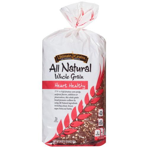 Ultimate Grains Heart Healthy Bread, 24 oz