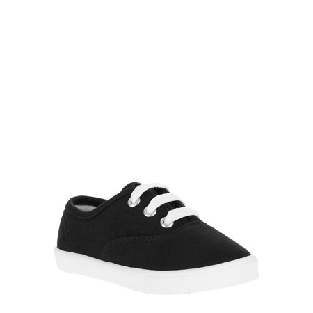 Faded Glory Toddler Girls' Lace Up Canvas Casual - Modern Shoes For Girls