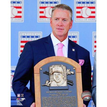 Tom Glavine 2014 Hall of Fame Induction Ceremony Photo Print