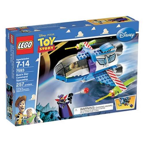 Toy Story Buzz's Star Command Spaceship Set Lego 7593 by