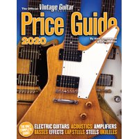 The Official Vintage Guitar Magazine Price Guide 2020 (Paperback)