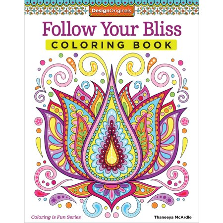 follow your bliss coloring book - Walmart Coloring Books