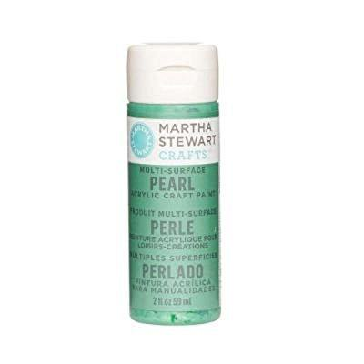 Martha Stewart Crafts Multi-Surface Pearl Acrylic Craft Paint in Assorted Colors (2-Ounce), 32125 - Martha Stewart Paint Colors
