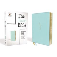The Jesus Bible, NIV Edition, Leathersoft, Blue, Comfort Print (Other)