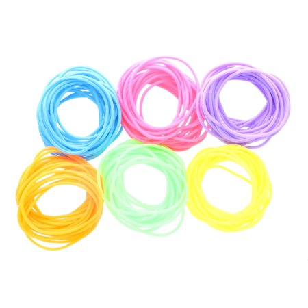 Lot of 144 Vinyl Neon Jelly Bracelets Party - 80s Jelly Bracelets