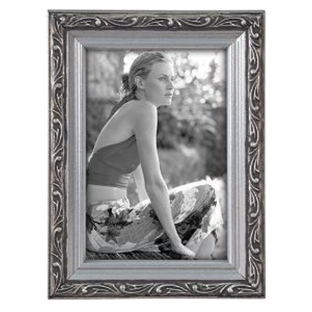 4x6 Picture Frame BEZEL - Silver (Silver Sterling Wood Picture Frame)