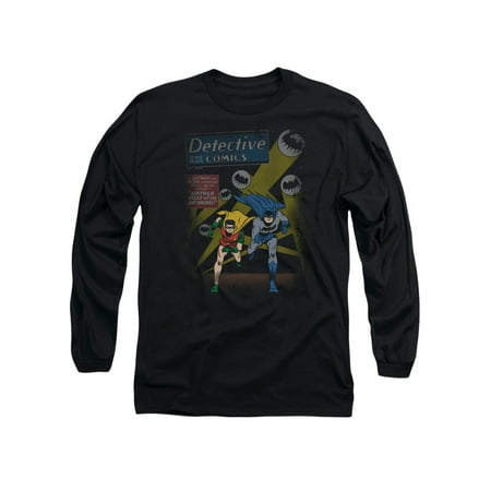 Batman DC Comics Dynamic Duo Batman and Robin Adult Long Sleeve T-Shirt Tee