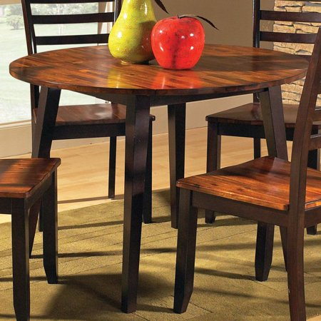 Steve Silver Abaco Round 42 In Double Drop Leaf Dining Table