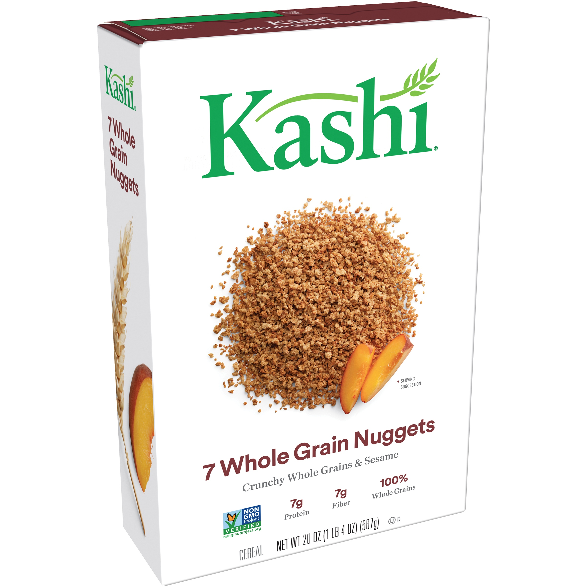 Kashi® 7 Whole Grain Nuggets Cereal 20 oz. Box