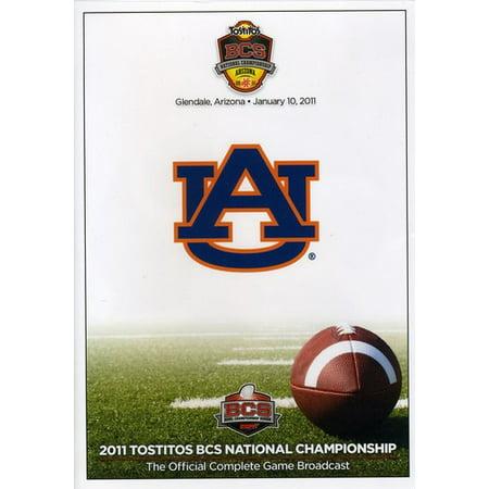 2011 Dvd - 2011 Tostitos BCS National Championship: Oregon vs. Auburn (DVD)