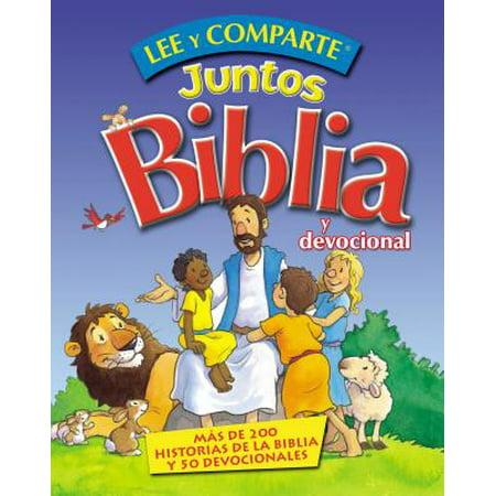 Lee y Comparte Juntos Biblia y Devocional : Más de 200 Historias Bíblicas y 50 Devocionales (Historias De Halloween De Terror)
