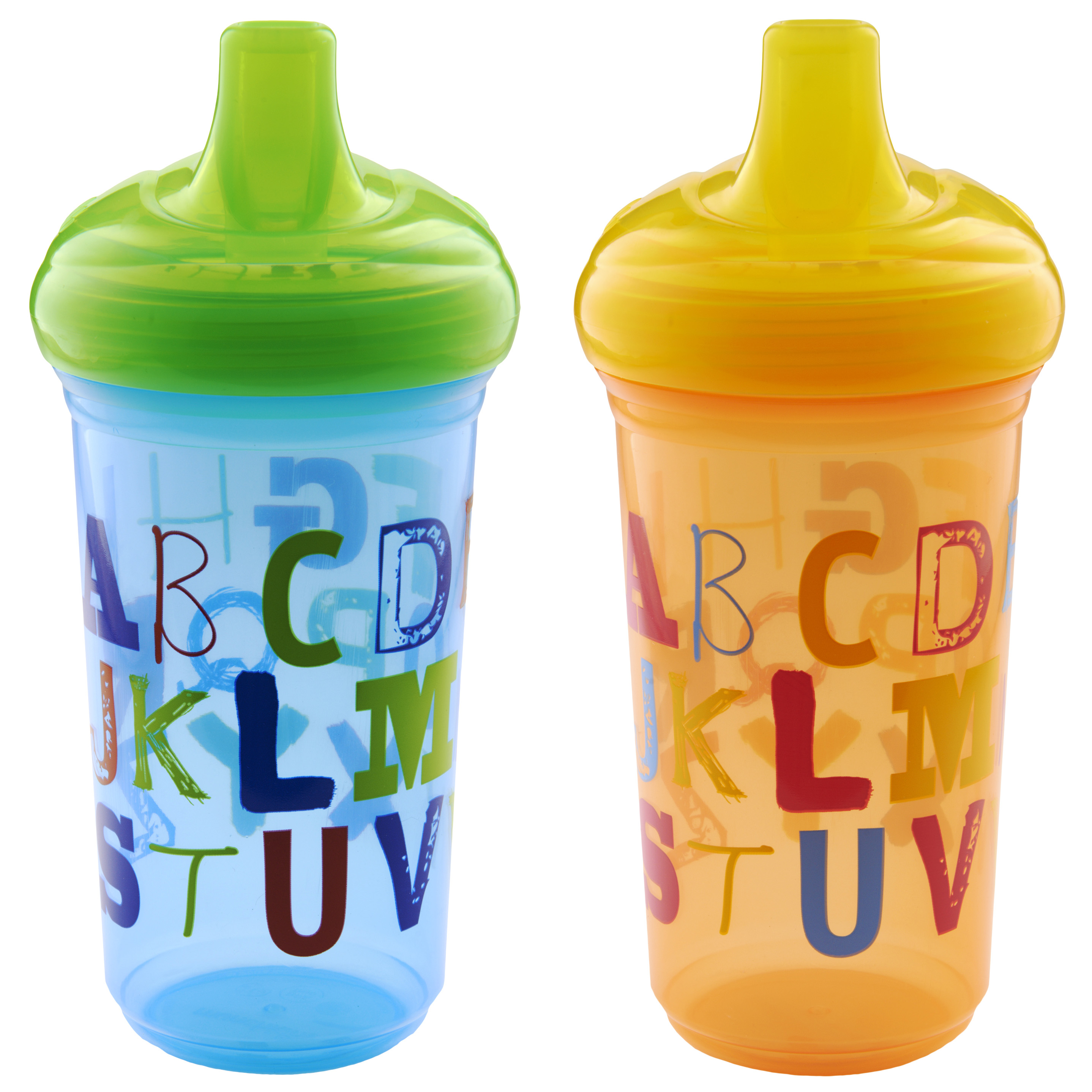 Munchkin 9oz Sippy Cup, BPA-Free, 2-Pack, Alphabet