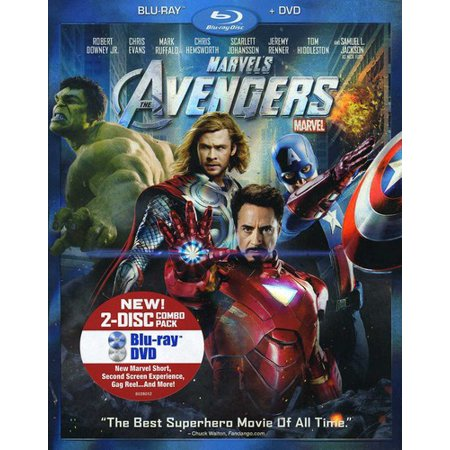 Marvel's The Avengers (Blu-ray + DVD) (Widescreen) ShopFest Money Saver