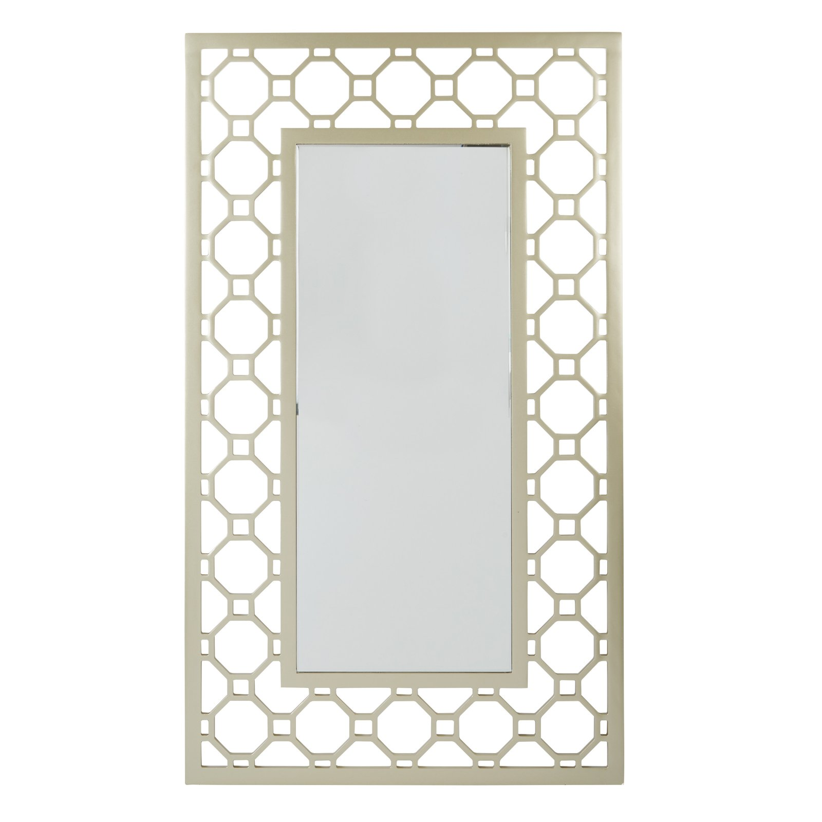 Matte Gold Frame Square Mirror ASM by Office Star Products