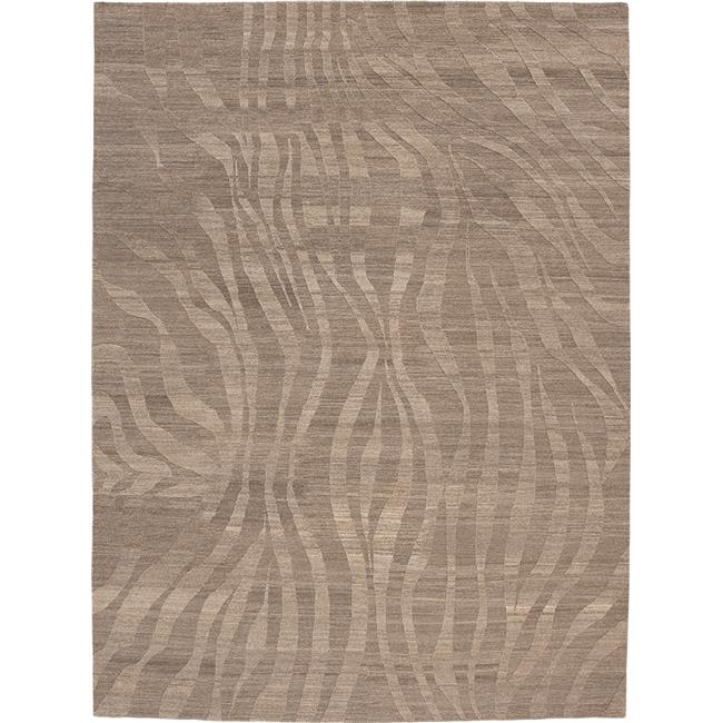 Due Process Stable Trading Elemental Takri Natural & Grey Area Rug, 3 x 5 ft. - image 1 of 1