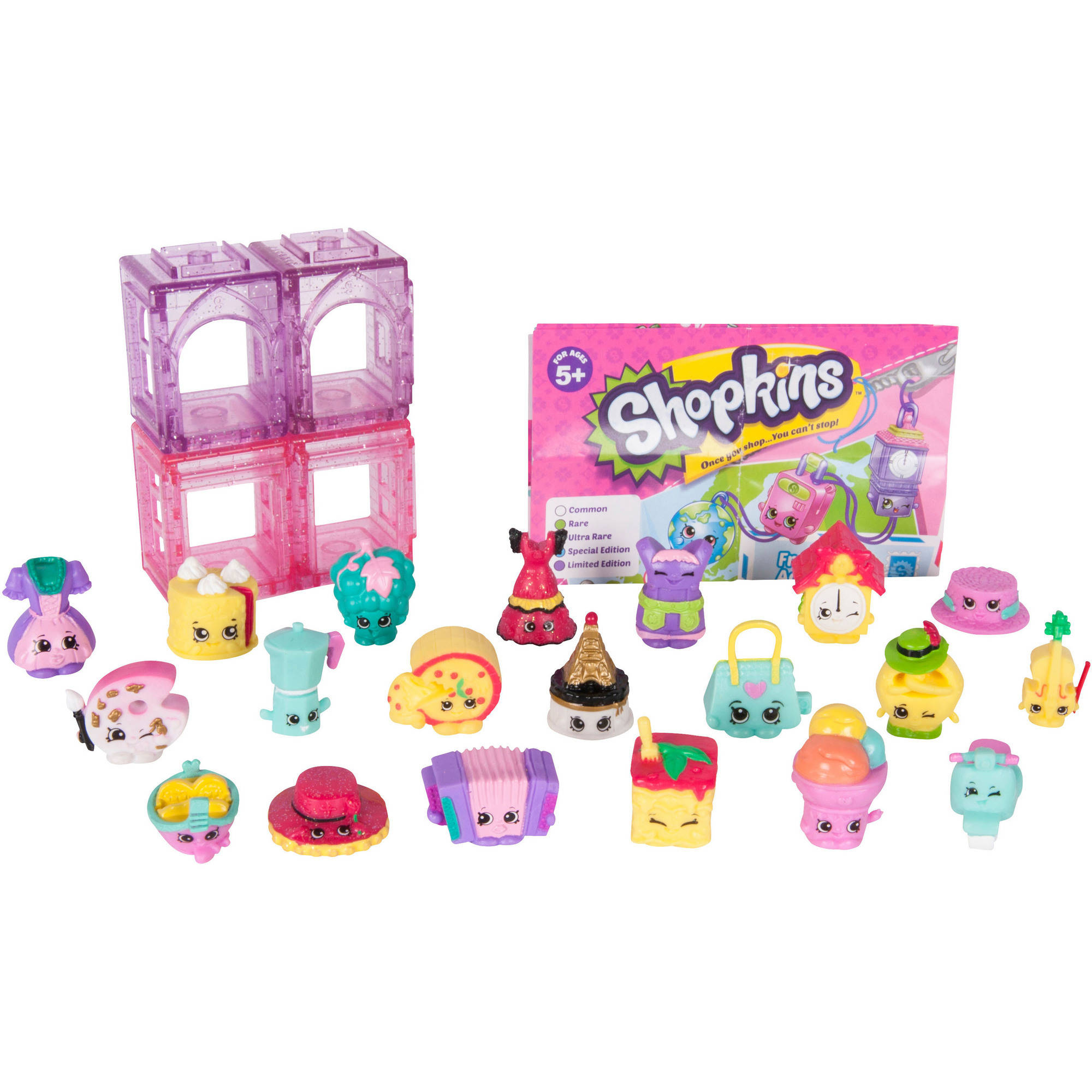 Shopkins Season 8, Europe Mega Pack - Walmart.com ...