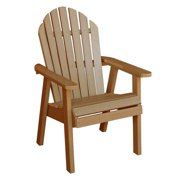HighwoodUSA AD-CHDA2-TFE Hamilton Deck Chair, Toffee