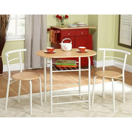 Tms 3 Piece Bistro Dining Set Walmart Com