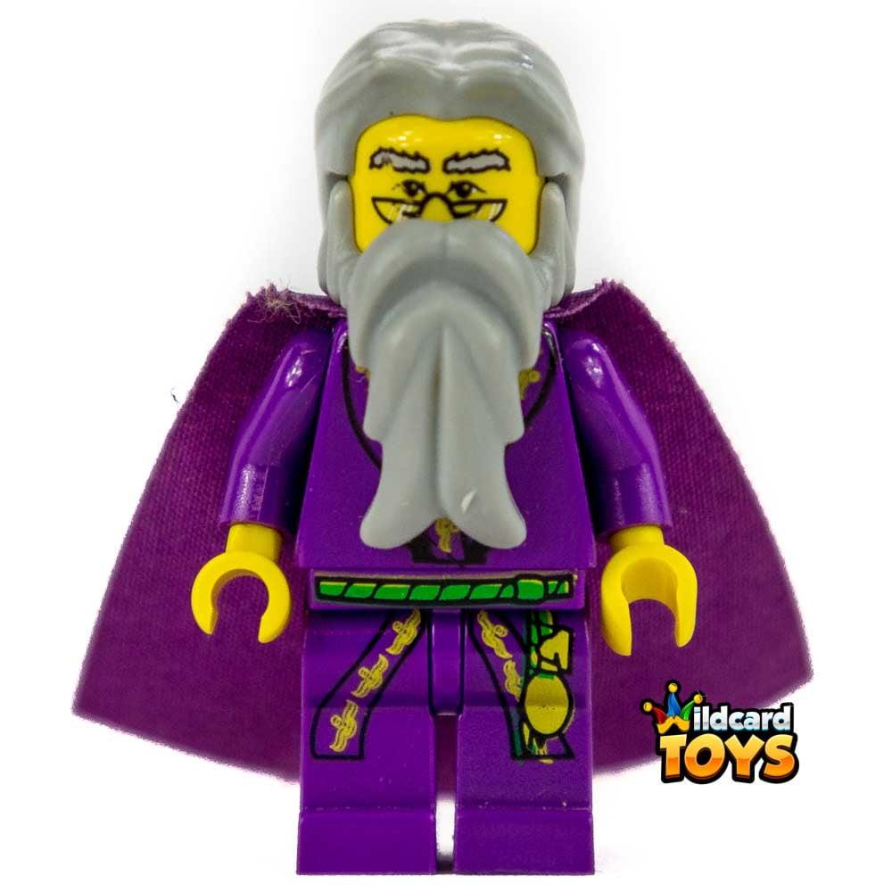 lego harry potter dumbledore  yellow version minifigure