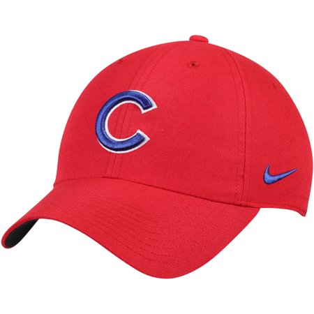 Chicago Cubs Nike Heritage 86 Stadium Performance Adjustable Hat - Red -