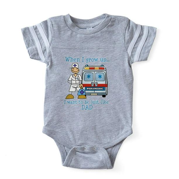 CafePress My Daddy Flies Airplanes Body Suit Cute Long Sleeve Infant Bodysuit Baby Romper Sky Blue