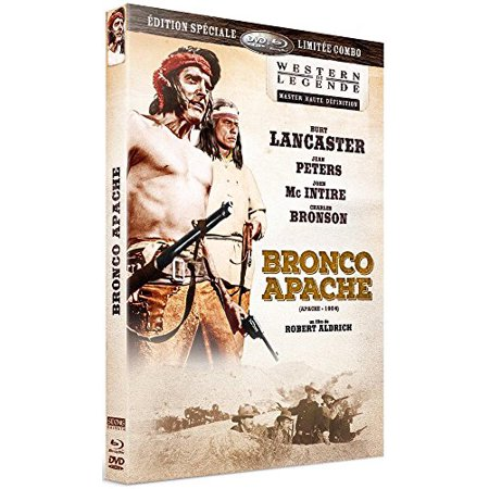 Apache (1954) ( Bronco Apache ) (Blu-Ray & DVD Combo) [ Blu-Ray, Reg.A/B/C Import - France ] - Apache Headress