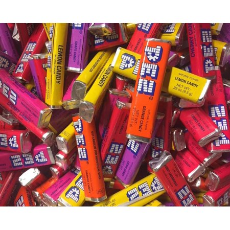 PEZ Candy Single Flavor 2 lb (Variety) Variety 2 Lb Candy Tubs