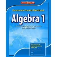 Algebra 1 Homework Practice Workbook