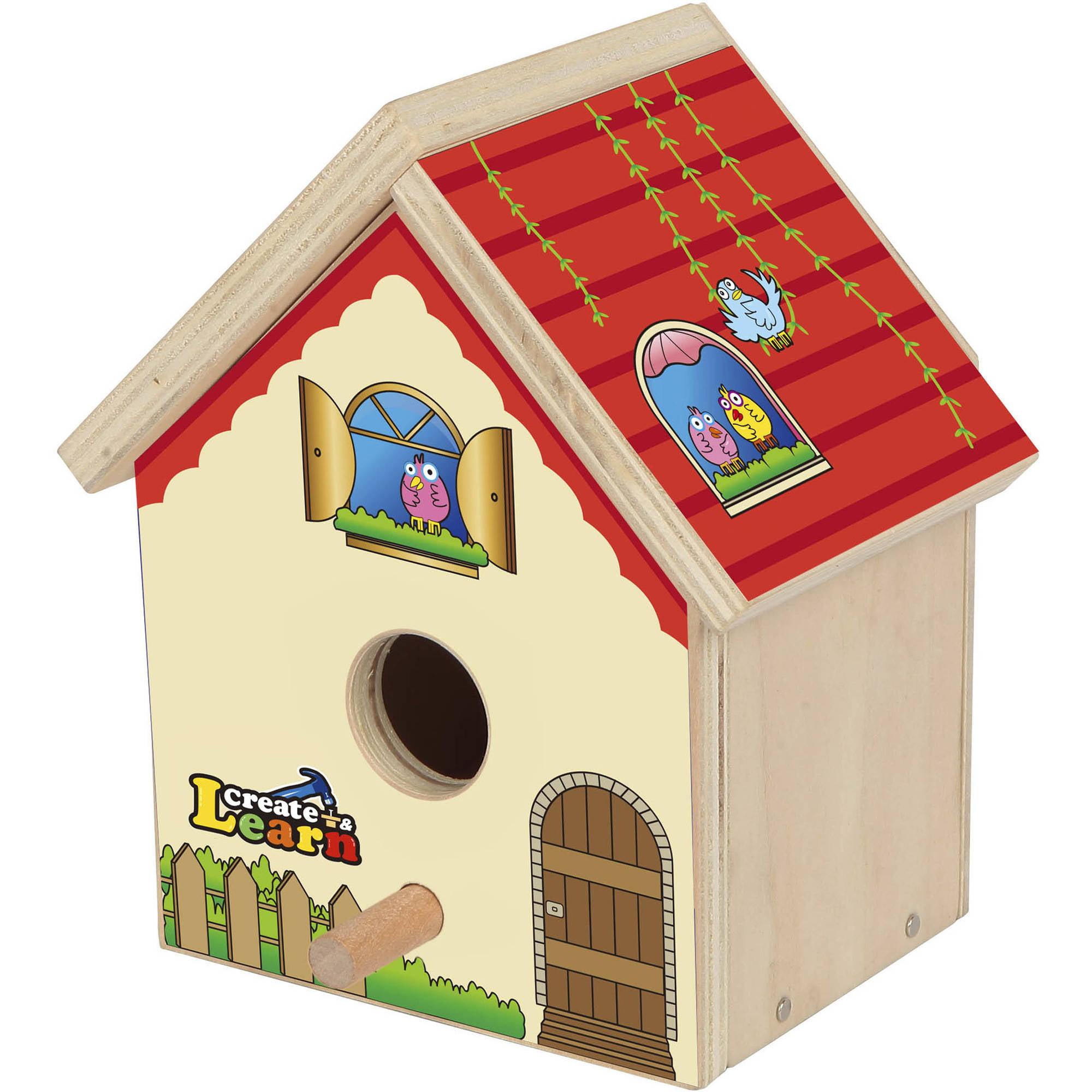Build a Bird House Kid's Project Kit