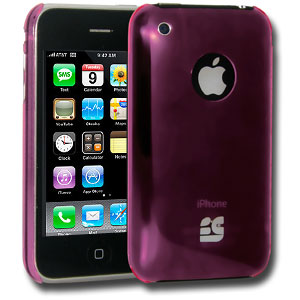 iPhone 3G/3G S Case, Slim Protective Hard Snap On Cover for Phone 3G/3G S - Pink