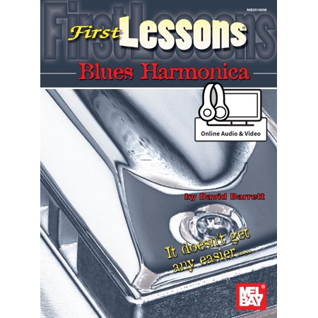 First Lessons Blues Harmonica - eBook