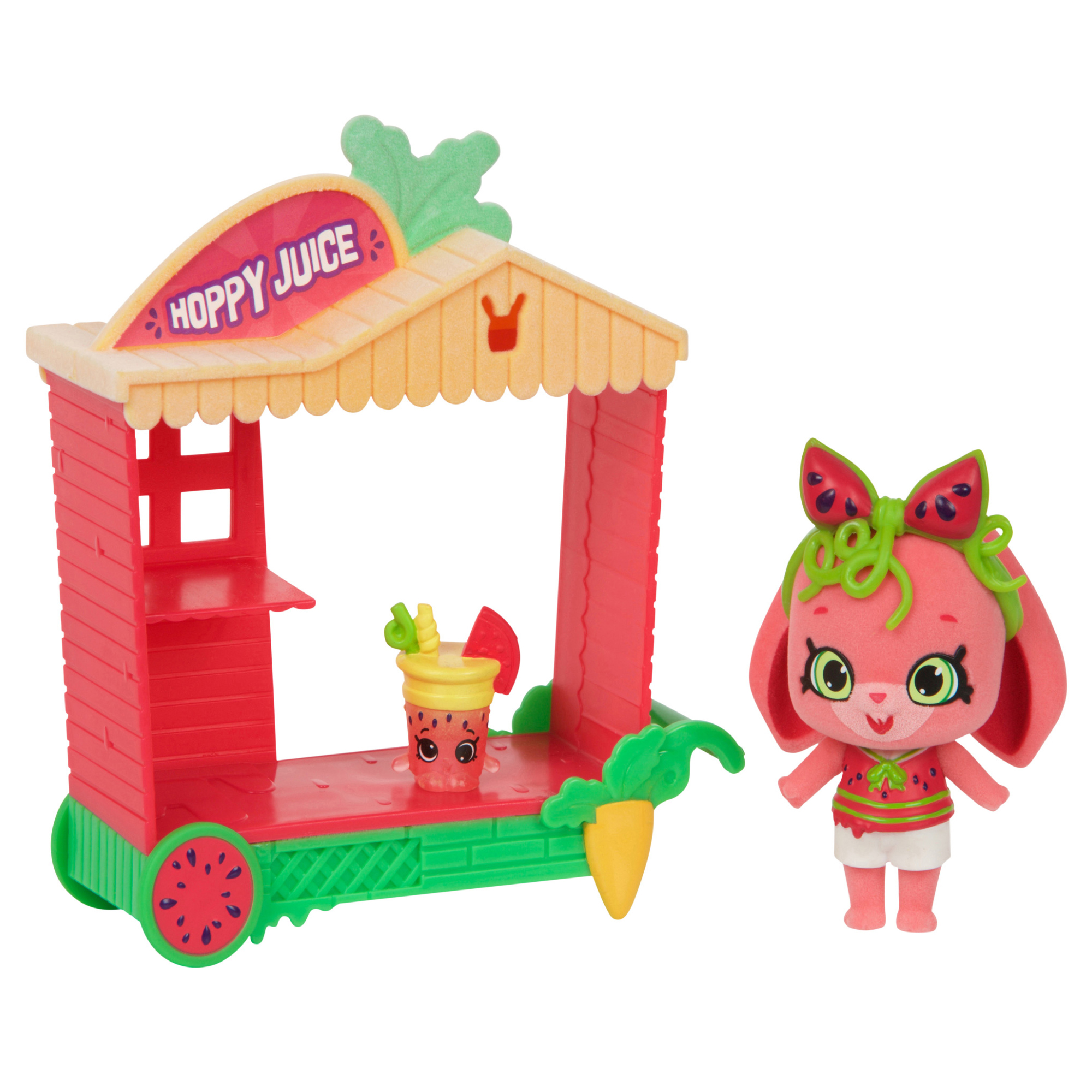 License 2 Play - Shopkins Shoppets Series 9, Bunny Juice Truck