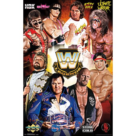 Trends International Wwe Legends Group Wall Poster 22 375  X 34