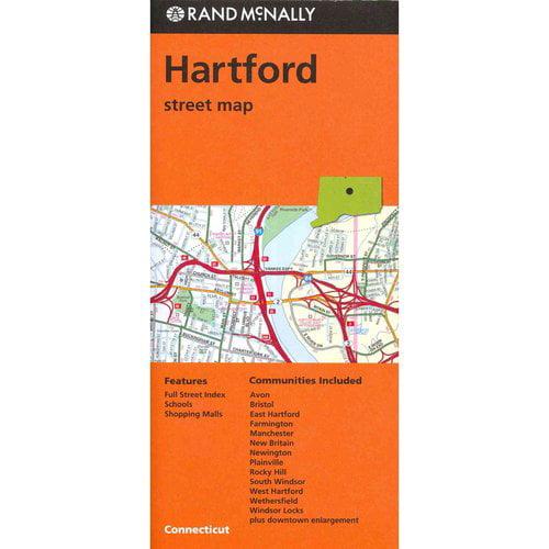 Rand McNally Hartford, Connecticut Street Map