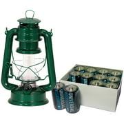 Northpoint 12 LED Vintage Style Lantern and 12-Pack D Batteries