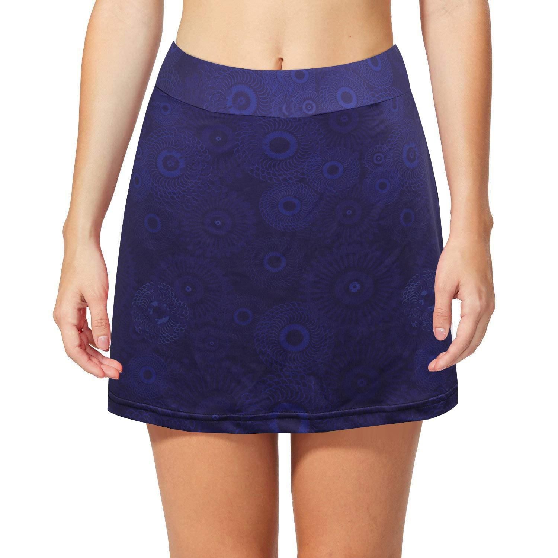 Women Girl Active Athletic Lightweight Running Tennis Golf Workout Skirt