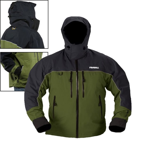 Frabill F4 Cyclone Jacket (S)- Green/Grey