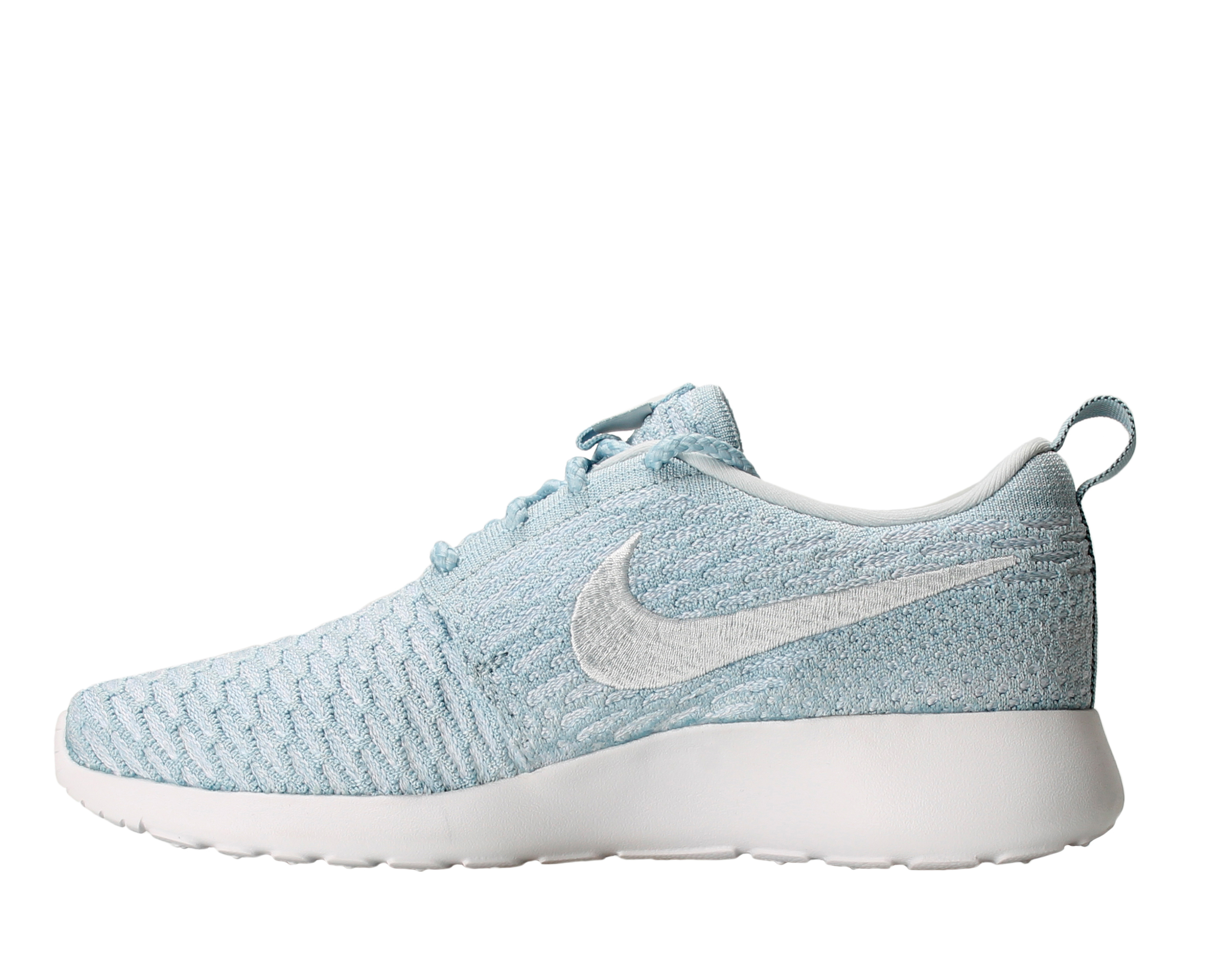 hot sale online 376b8 dc7aa ... spain nike nike roshe one flyknit light armory blue white womens running  shoes 704927 401 walmart