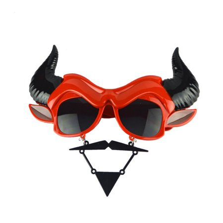 Funny Horror Mask Glasses Kids Gift Photo Booth Props Halloween Christmas Party Decoration - Kids Halloween Party Foods
