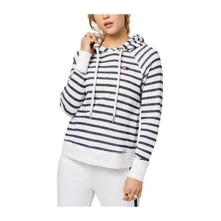 Striped-Print Hoodie