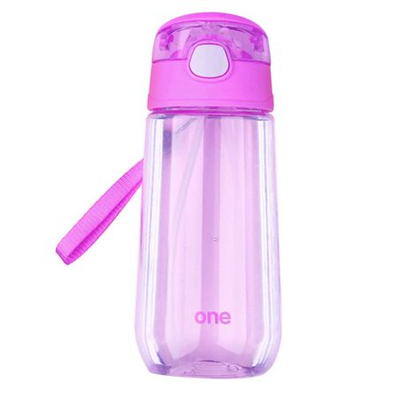 AkoaDa Water Bottle , Opens with Simple Button Press,Kids Drinks Bottle,for Sports,Outdoors,Gym,Yoga ()